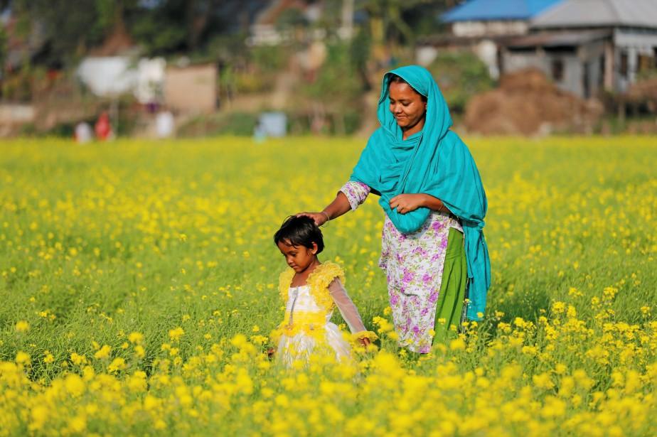 Le Bangladesh a abaissé l'âge minimum pour se... (Photo Mohammad Ponir Hossain, Archives REUTERS)
