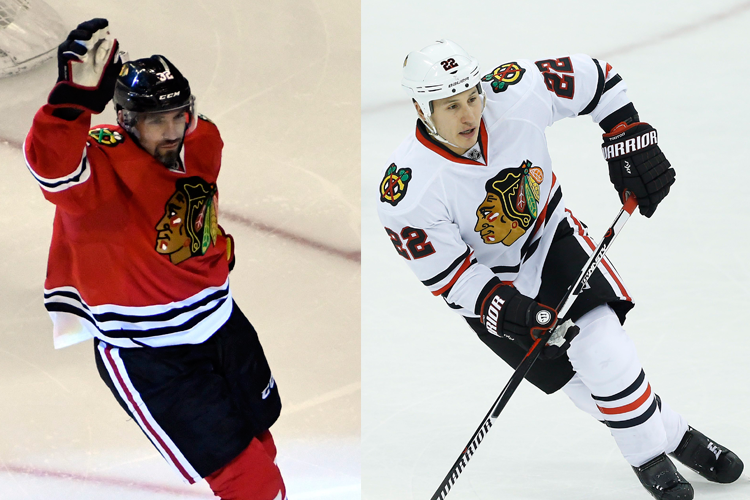 Les Blackhawks de Chicago ont accordé des prolongations de contrat... (Photos AP)