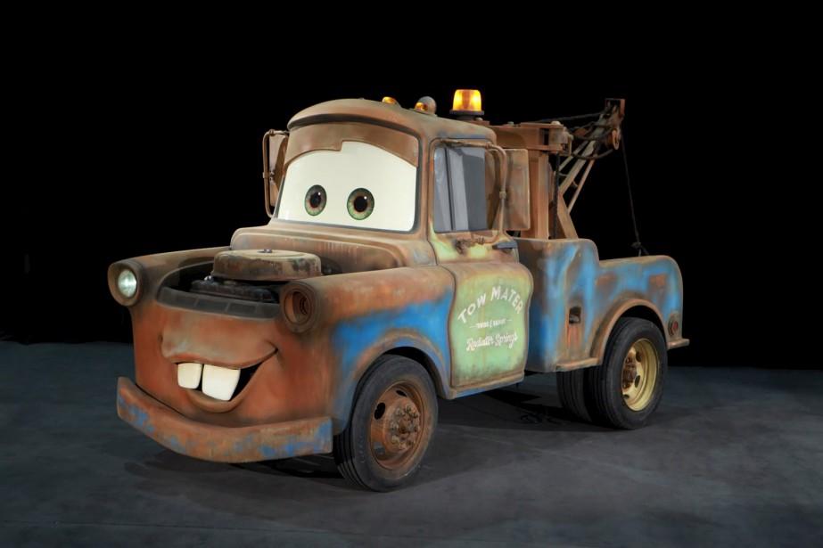 Mater des <em>Bagnoles</em> (Fournie par le Salon de l'auto de Québec)