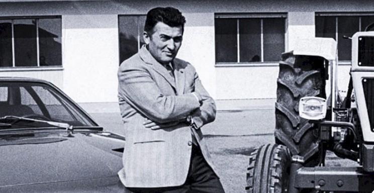 Le fondateur de Lamborghini Automobili, Ferruccio Lamborghini (Tirée du site Web de Lamborghini)