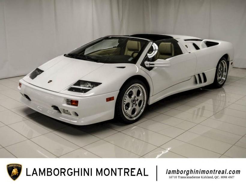 Lamborghini Diablo Roadster 2001 (Fournie par Lamborghini Montréal)