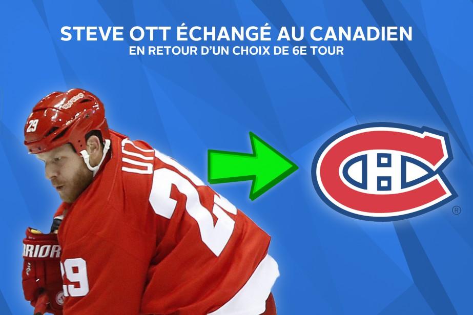 Steve Ott ajoutera de la profondeur à l'attaque du Canadien. ()