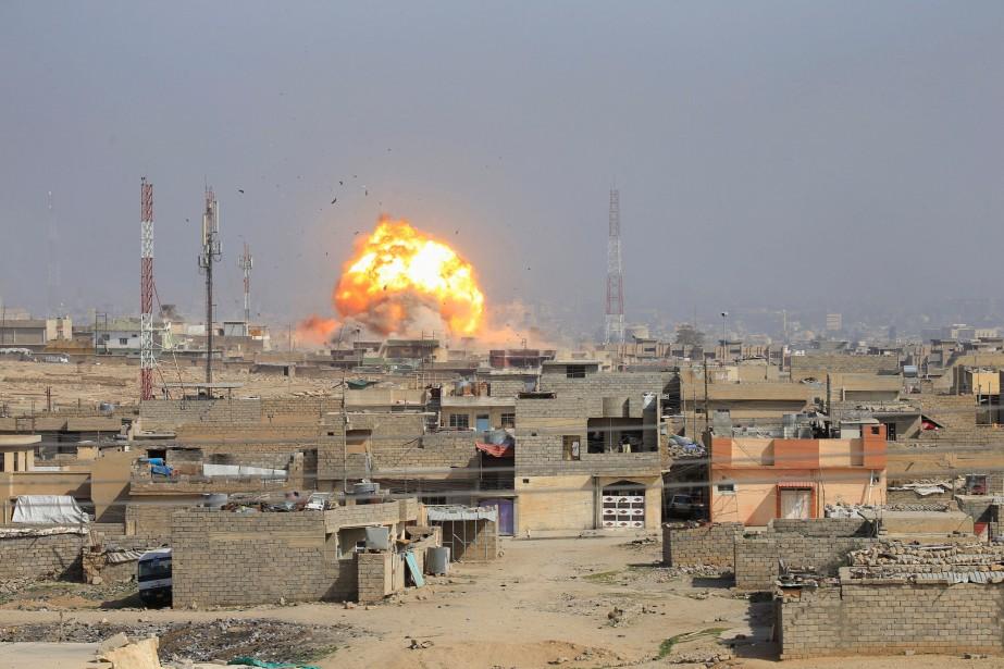 Au onzième jour de leur offensive sur Mossoul-Ouest,... (PHOTO Alaa Al-Marjani, REUTERS)