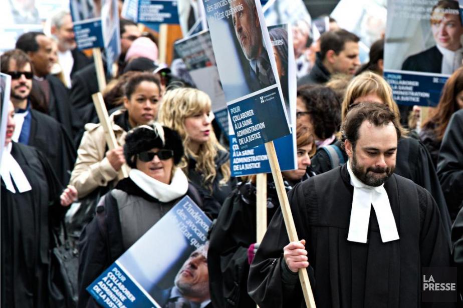 La grève desjuristes de l'État prend finaujourd'huiaprès quatre... (Archives La Presse)