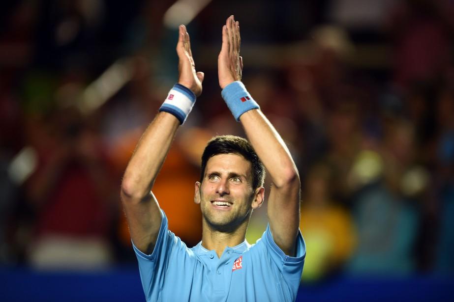 Novak Djokovic... (Photo Alfredo Estrella, Agence France-Presse)