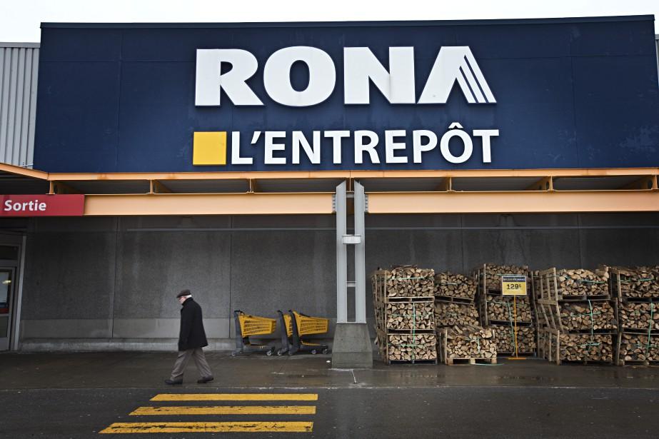 Ronaa fait augmenter les ventes de Lowe's de... (Photo Patrick Sanfaçon, archives)