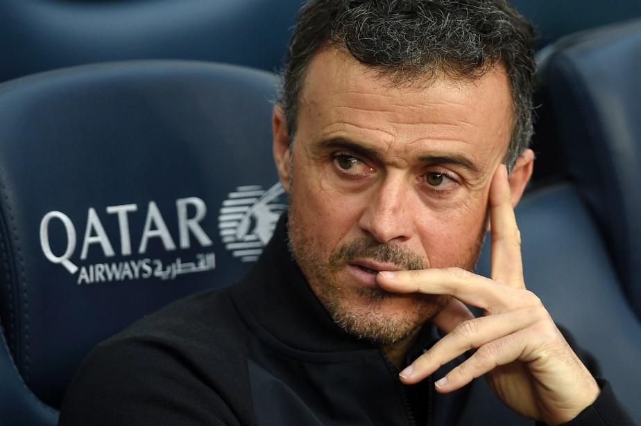 L'entraîneur du FC Barcelone, Luis Enrique.... (Photo Lluis Gene, AFP)