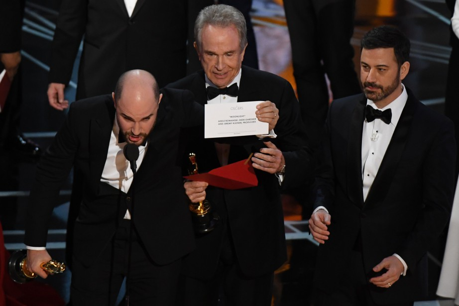 Le producteur de La La Land Jordan Horowitz... (PHOTO Mark RALSTON, ARCHIVES AFP)