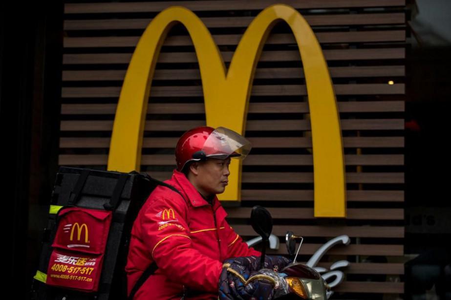 «Actuellement, McDonald's expérimente avec différents modèles de livraison,... (photoJohannes EISELE, agence france-presse)