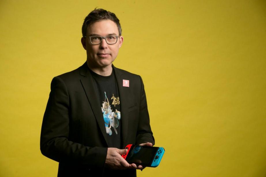 Pierre-Paul Trépanier, directeur général de Nintendo au Canada... (PHOTO DAVID BOILY, LA PRESSE)