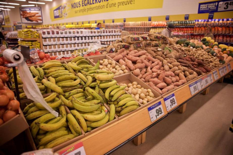 D'un quartier à l'autre, l'offre alimentaire dans les... (Photo André Pichette, La Presse)