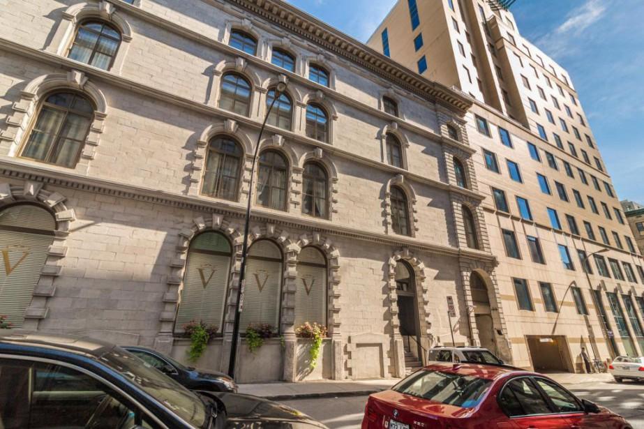 L'édifice est situé tout près de la rueMcGill... (Photo fournie par Sotheby's International Realty)