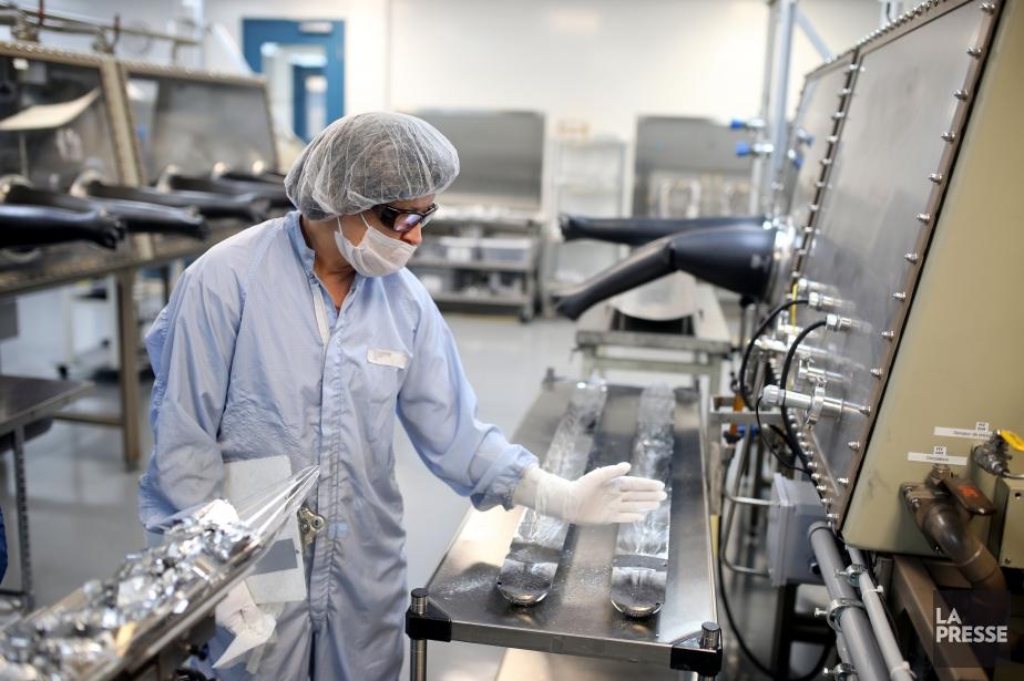 Les produits de 5N Plus sont utilisés dans... (Photo Martin Chamberland, archives La Presse)