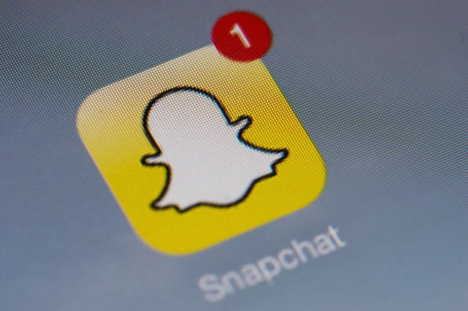 Les espoirs de Snapchat de devenir un réseau social aussi... (Photo Archives AFP)