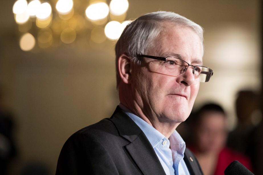 Le ministre fédéral des Transports, Marc Garneau... (PHOTO Chris Bolin, ARCHIVES REUTERS)