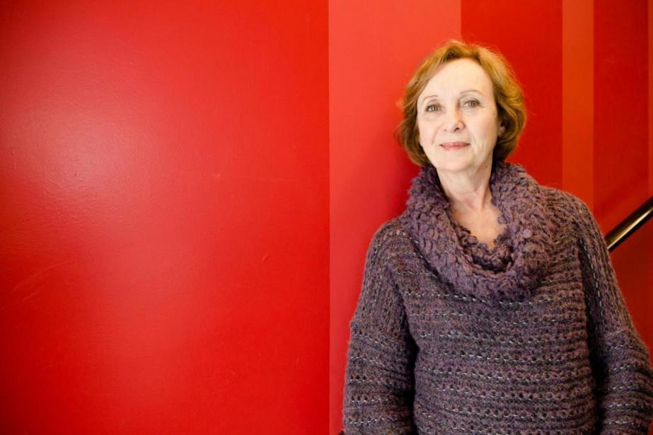 Cette semaine, la comédienne et auteure Louise Turcotprésente... (PHOTO NINON PEDNAULT, LA PRESSE)