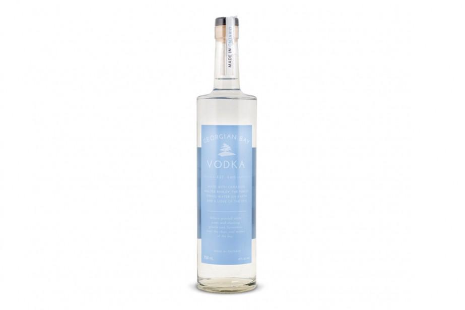 Des bouteilles de vodka font l'objet d'un rappel en Ontario parce... (Photo LCBO)