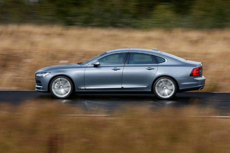 La Volvo S90 est en lice pour le titre de voiture de l'année en Europe. (Volvo)