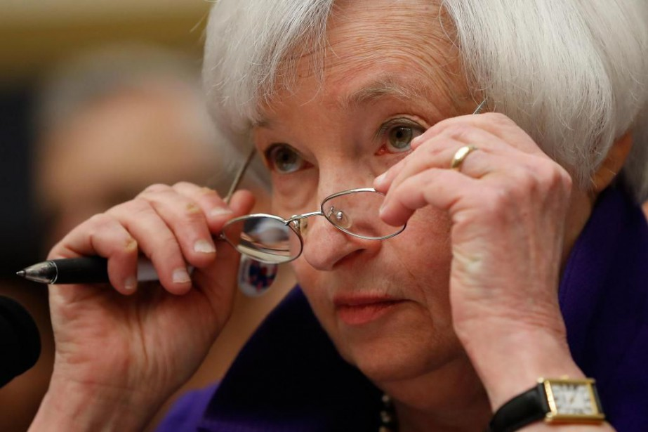 La présidente de la Fed, Janet Yellen.... (Photo Pablo Martinez Monsivais, archives Associated Press)