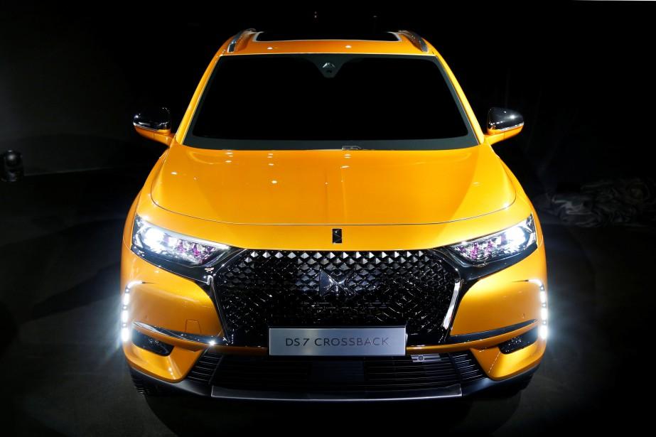 Citroën-Peugeot (PSA) a déjà dévolé le VUS DS 7 Crossback SUV à Paris, mardi dernier. (REUTERS)