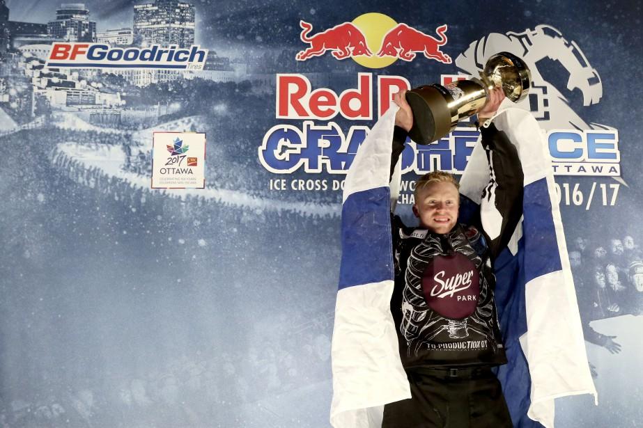 Le Finlandais, Mirko Lahti, est champion du monde junior. | 3 mars 2017