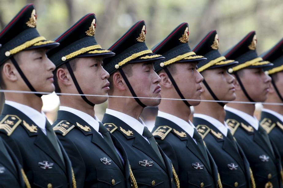 L'armée chinoise compte 2 millions de membres.... (Photo Kim Kyung-Hoon, archives REUTERS)