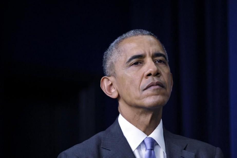 Barack Obama... (photoMANDEL NGAN, archives agence france-presse)