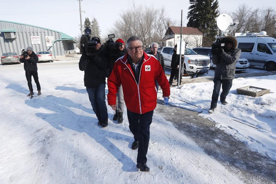 Le ministre Goodale était en visite samedidans la... (Photo John Woods, La Presse Canadienne)