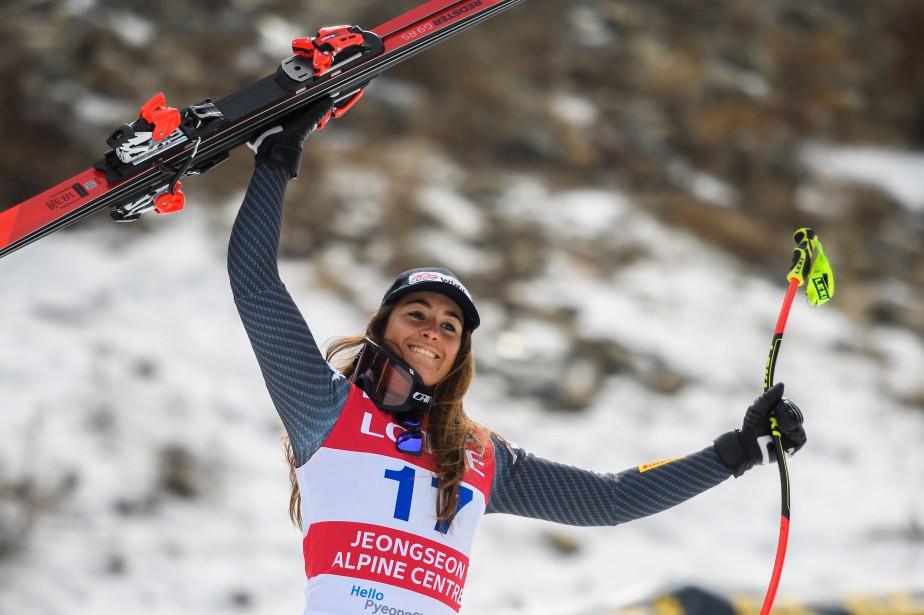 Sofia Goggia... (PHOTO Fabrice COFFRINI, AFP)
