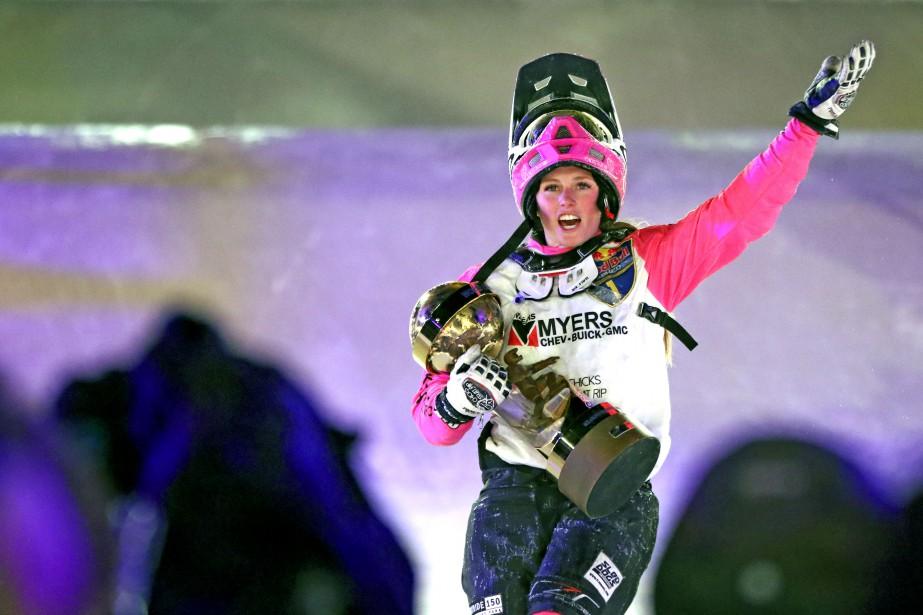 Jacqueline Legere est championne du monde pour une deuxième année consécutive. | 4 mars 2017
