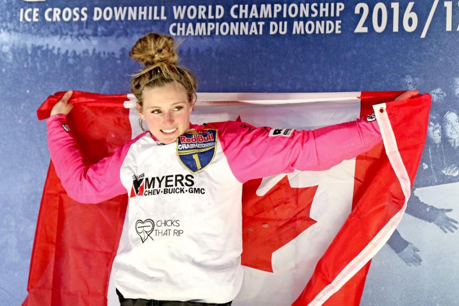 Jacqueline Legere a conservé son titre de championne du monde. | 4 mars 2017