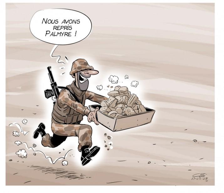 Caricature du 5 mars | 4 mars 2017