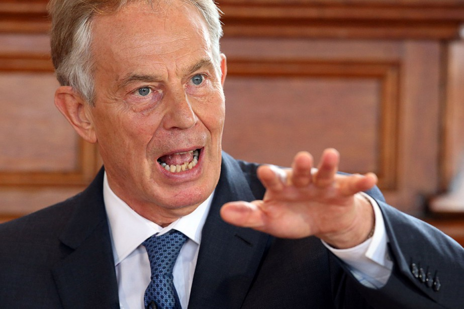 L'ex-premier ministre britannique Tony Blair... (PHOTO Brian Lawless, ARCHIVES AGENCE FRANCE-PRESSE)