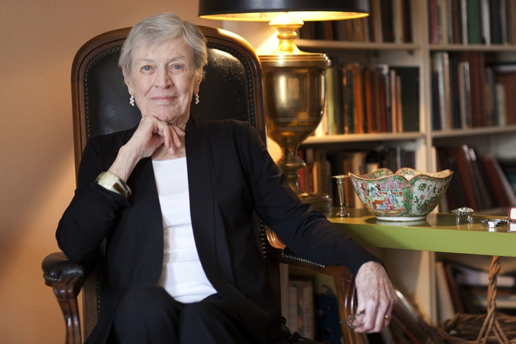 Paula Fox en 2011, à New York.... (ARCHIVES AP)