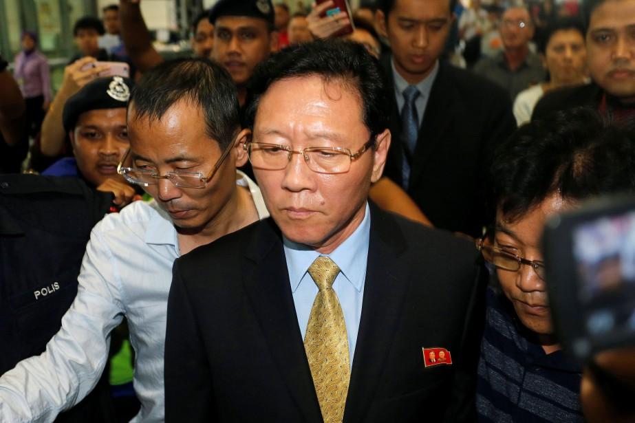 L'ambassadeur Kang Chol a quitté la Malaisie sur... (Photo REUTERS)