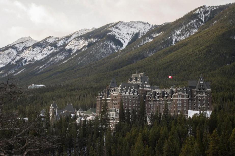 Le Banff Springs, lieu historique national, est situé... (PHOTO YANNICK FLEURY, LA PRESSE)