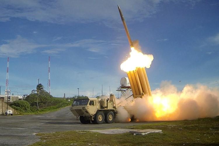 Le système THAAD tire des missiles conçus pour... (PHOTO REUTERS)