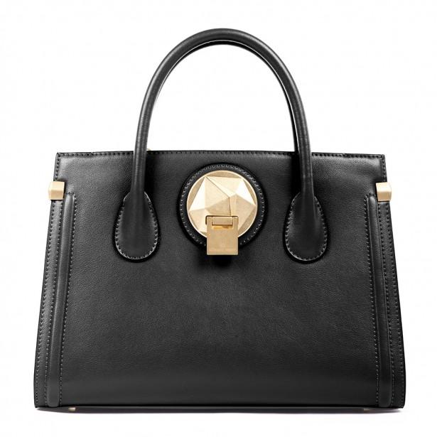 Le sac à main en cuir Octave, la pièce de résistance de la collection Céline Dion (398$) (Fournie par Groupe Bugatti)