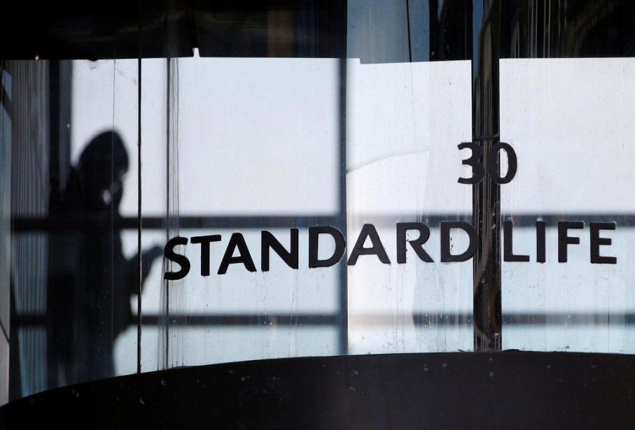 Le futur groupe Standard Life/Aberdeen, dont le siège... (PHOTO RUSSELL CHEYNE, ARCHIVES REUTERS)
