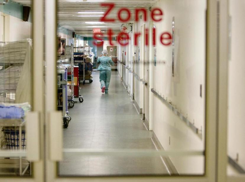 Depuis l'incident, l'établissement de santé a adopté une... (Photo Ivanoh Demers, Archives La Presse)