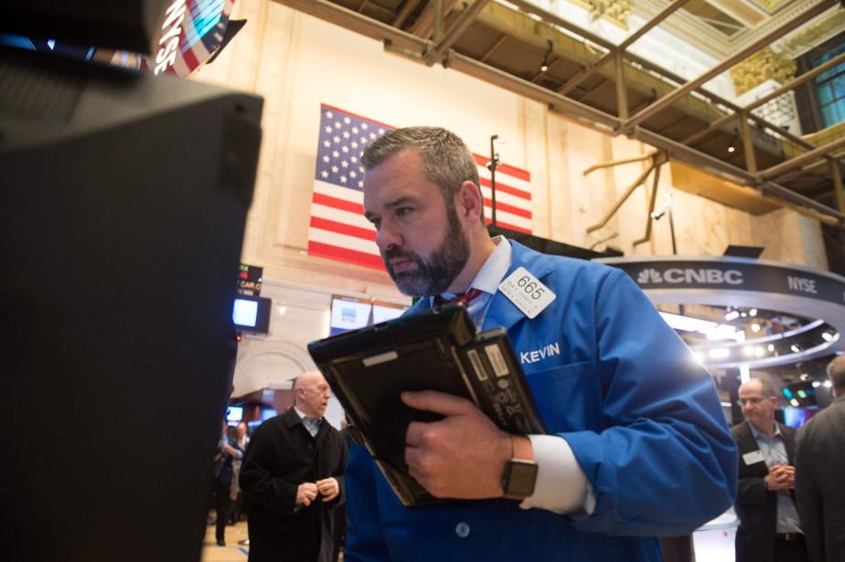 Les marchés nord-américains ont reculé,... (Photo archives Agence France-Presse)