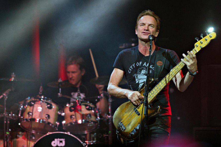 Sting a pris unplaisir manifeste à piger dans... (PHOTO OLIVIER JEAN, LA PRESSE)