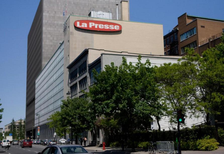 370023, Montréal -- L'édifice de La Presse. Siège... (Photo: David Boily, La Presse)