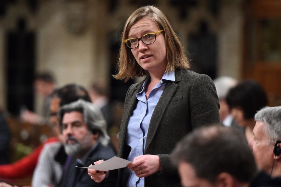La ministre fédérale des institutions démocratiques, Karina Gould... (Photo Sean Kilpatrick, archives La Presse canadienne)