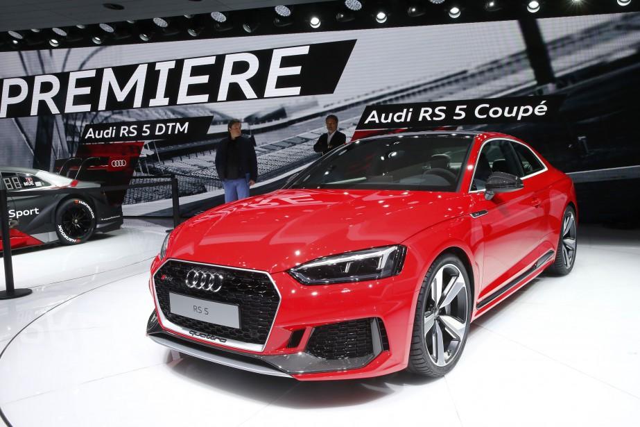 Le Coupé Audi RS 5. (REUTERS)
