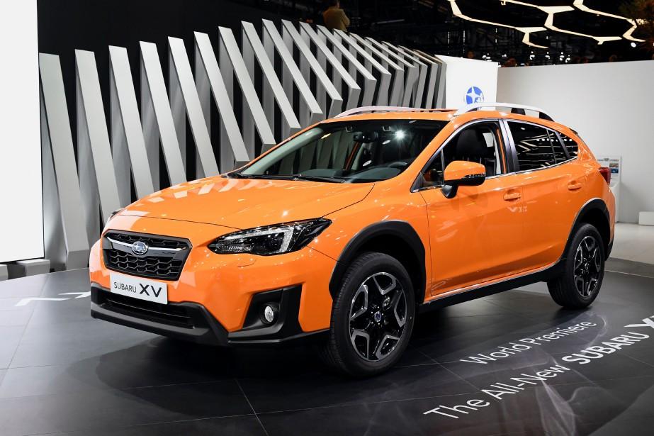 Le nouveau Subaru Crosstrek (connu sous le nom de XV en Europe). (AFP)