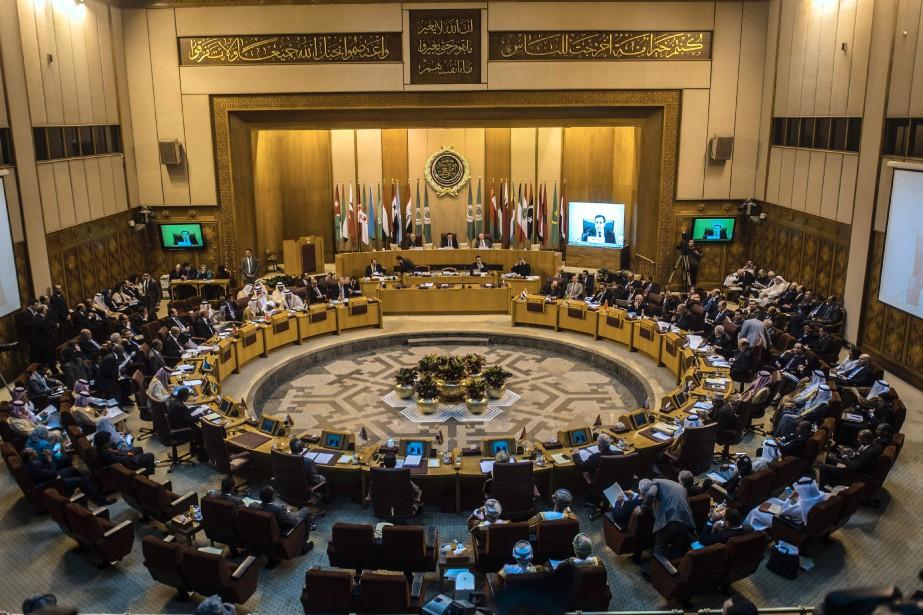 Le texte de la Ligue arabe indique que... (PHOTO KHALED DESOUKI, AFP)