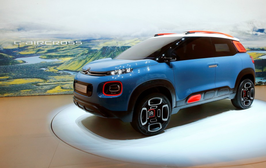 Le prototype Citroën C-Aircross. (REUTERS)