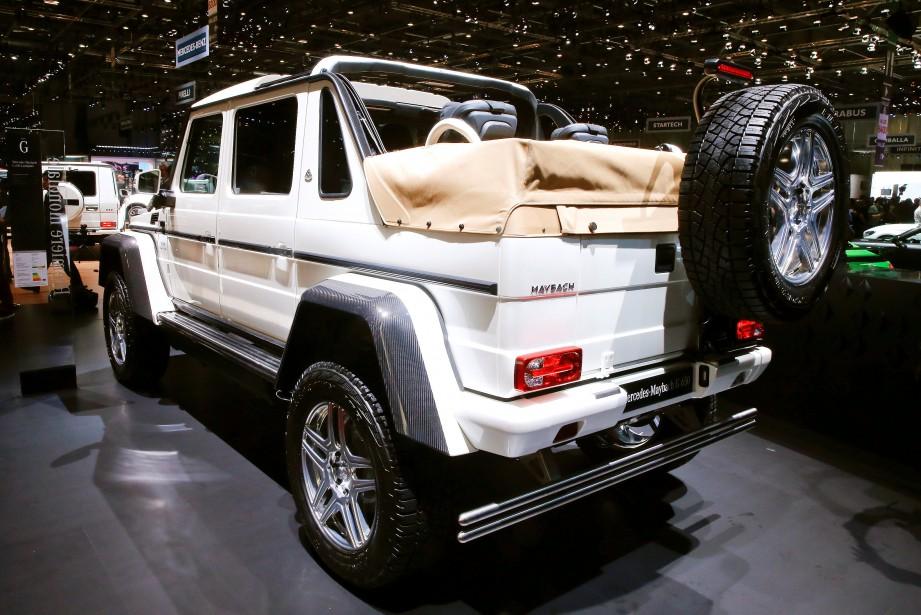 Un Mercedes-Maybach G 650 Landaulet. (REUTERS)