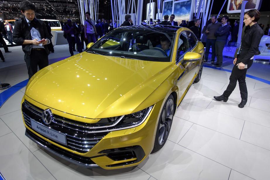 Volkswagen compte sur l'Arteon , entre autres, pour augmenter ses ventes. L'Arteon prend la place de la berline CC dans l'offre Volkswagen. (AP)
